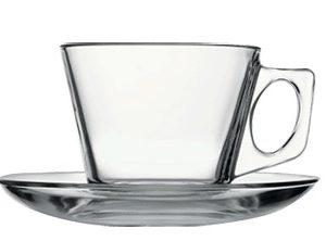Vela mokkás csésze + alj